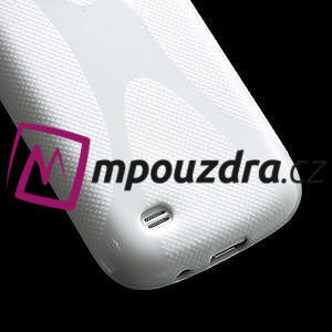 Gelové X pouzdro pro Samsung Galaxy S4 mini i9190- bílé - 5