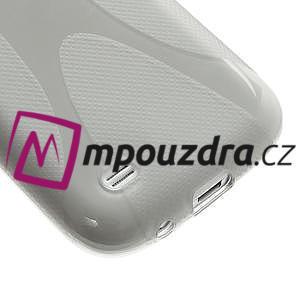 Gelové X pouzdro pro Samsung Galaxy S4 mini i9190- šedé - 5