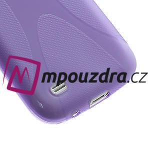 Gelové X pouzdro pro Samsung Galaxy S4 mini i9190- fialové - 5