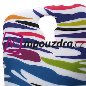 Gelové pouzdro pro Samsung Galaxy S4 mini i9190- color zebra - 5