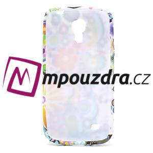 Gelové pouzdro pro Samsung Galaxy S4 mini i9190- barevné květy - 5
