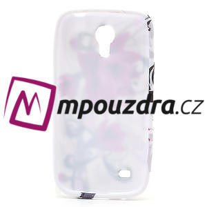 Gelové pouzdro pro Samsung Galaxy S4 mini i9190- fialové květy - 5
