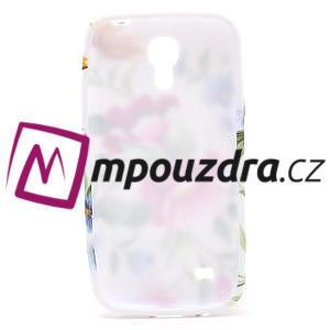 Gelové pouzdro pro Samsung Galaxy S4 mini i9190- květinka - 5