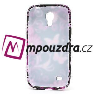 Gelové pouzdro pro Samsung Galaxy S4 mini i9190- květina-motýl - 5