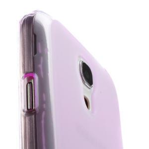 Gelové pouzdro na Samsung Galaxy S4 mini i9190- fialové - 5