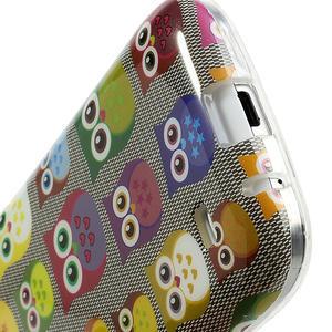 Gelové pouzdro na Samsung Galaxy S4 mini i9190- multi sovy - 5