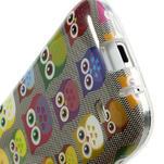 Gelové pouzdro na Samsung Galaxy S4 mini i9190- multi sovy - 5/5