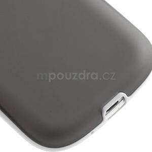 Gelové rámované pouzdro na Samsung Galaxy S3 i9300- šedé - 5