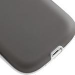 Gelové rámované pouzdro na Samsung Galaxy S3 i9300- šedé - 5/7