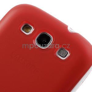 Gelové rámované pouzdro na Samsung Galaxy S3 i9300- červené - 5