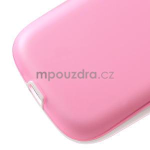 Gelové rámované pouzdro na Samsung Galaxy S3 i9300- růžové - 5