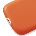 Gelové rámované pouzdro na Samsung Galaxy S3 i9300- oranžové - 5/7