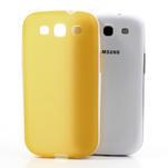 Gelové rámované pouzdro na Samsung Galaxy S3 i9300- žluté - 5/6