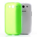 Gelové rámované pouzdro na Samsung Galaxy S3 i9300- zelené - 5/6