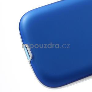 Gelové rámované pouzdro na Samsung Galaxy S3 i9300- modré - 5