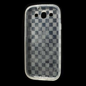 Gelové koskaté pouzdro na Samsung Galaxy S3 i9300- transparentní - 5