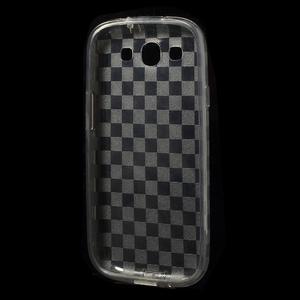 Gelové koskaté pouzdro na Samsung Galaxy S3 i9300- šedé - 5