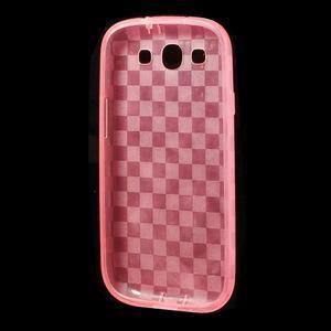 Gelové koskaté pouzdro na Samsung Galaxy S3 i9300- růžové - 5