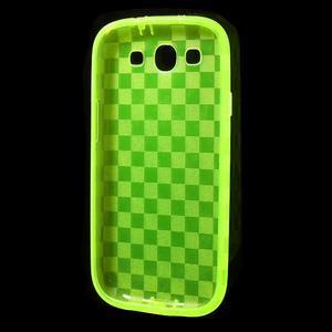 Gelové koskaté pouzdro na Samsung Galaxy S3 i9300- zelené - 5
