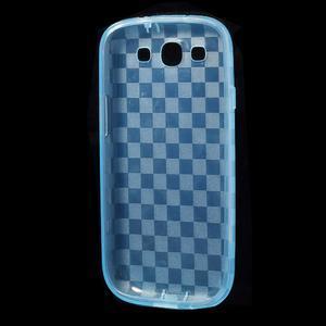Gelové koskaté pouzdro na Samsung Galaxy S3 i9300- modré - 5