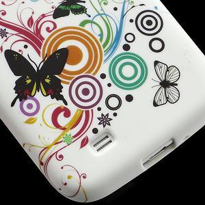 Gelové pouzdro pro Samsung Galaxy S4 i9500- motýl color - 5