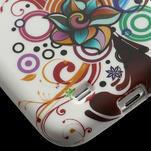 Gelové pouzdro pro Samsung Galaxy S4 i9500- barevná květina - 5/7
