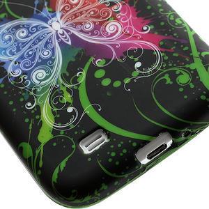 Gelové pouzdro pro Samsung Galaxy S4 i9500- barevný motýl - 5