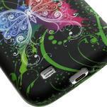 Gelové pouzdro pro Samsung Galaxy S4 i9500- barevný motýl - 5/5