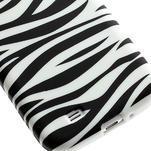 Gelové pouzdro pro Samsung Galaxy S4 i9500- zebra - 5/5