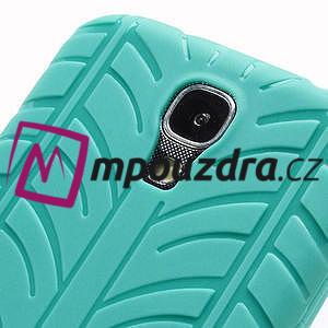 Gelové PNEU pouzdro pro Samsung Galaxy S4 i9500- zelené - 5