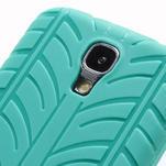 Gelové PNEU pouzdro pro Samsung Galaxy S4 i9500- zelené - 5/7