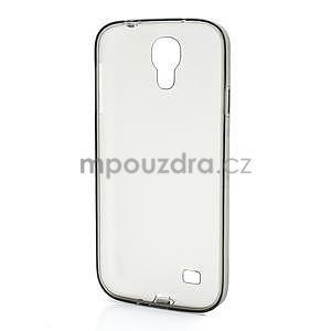 Gelové slim pouzdro na Samsung Galaxy S4 i9500- šedé - 5