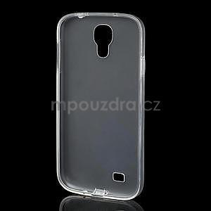 Gelové slim pouzdro na Samsung Galaxy S4 i9500- bílé - 5