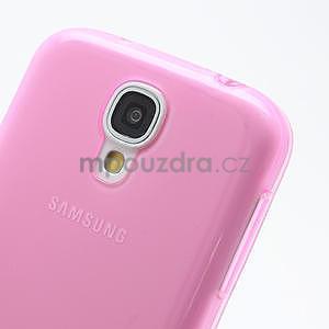 Gelové slim pouzdro na Samsung Galaxy S4 i9500- růžové - 5