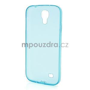 Gelové slim pouzdro na Samsung Galaxy S4 i9500- modré - 5