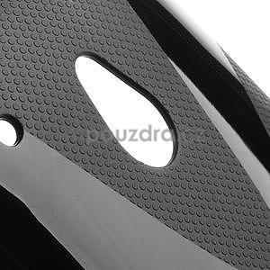 Gelové X-line pouzdro pro HTC one Mini M4- černé - 5