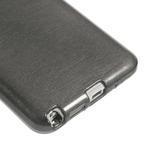 Gelové kartáčované pouzdro na Samsung Galaxy Note 3 Neo - černé - 5/5