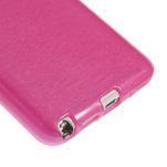 Gelové kartáčované pouzdro na Samsung Galaxy Note 3 Neo - růžové - 5/5