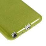 Gelové kartáčované pouzdro na Samsung Galaxy Note 3 Neo - zelené - 5/5