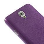 Gelové kartáčované pouzdro na Samsung Galaxy Note 3 Neo - fialové - 5/5