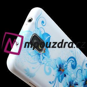 Gelové pouzdro na Samsung Galaxy Note 3- modrá lilie - 5