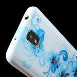 Gelové pouzdro na Samsung Galaxy Note 3- modrá lilie - 5/6
