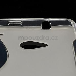 Gelové S-line pouzdro pro HTC one M7- transparentní - 5