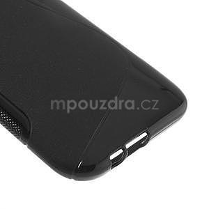 Gelové S-line pouzdro pro HTC one M8- černé - 5