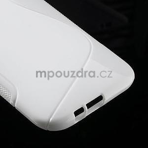 Gelové S-line pouzdro pro HTC one M8- bílé - 5