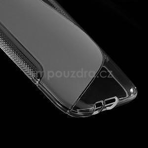Gelové S-line pouzdro pro HTC one M8- transparentní - 5