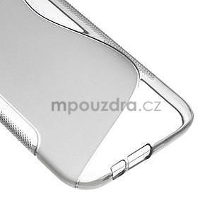 Gelové S-line pouzdro pro HTC one M8- šedé - 5