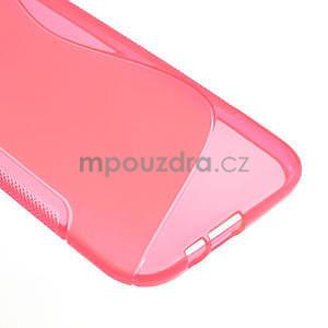 Gelové S-line pouzdro pro HTC one M8- růžové - 5
