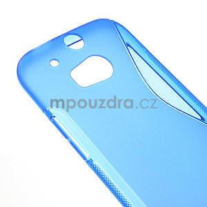 Gelové S-line pouzdro pro HTC one M8- modré - 5