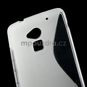 Gelové S-line pouzdro pro HTC one Max-transparentní - 5